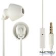 Thomson EAR 3008 W IN-EAR piccolino fülhallgató és mikrofon headset - fehér (132633)