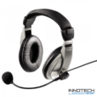 Hama AH-100 pc headset fejhallgató mikrofonnal (53994)