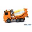Mercedes-Benz Arocs betonkeverő teherautó 37 cm 1:20 távirányítós RC játék munkagép Double Eagle E528-003 RTR Double E