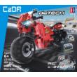 Double Eagle kirakós távirányítós motor (484 db, 29.4 cm 2.4GHz) RC építőkocka játék szett EE Double E CaDa (C51024W) (lego technic kompatibilis)