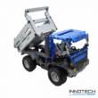 Double Eagle kirakós távirányítós billenőplatós kamion (638 db, 35,0 cm 2.4GHz) RC építőkocka játék teherautó munkagép szett EE Double E CaDa (C51017W) (lego technic kompatibilis)