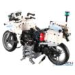 Double Eagle távirányítós építőkészlet játék szett rendőrmotor (539 db, 33,7 cm 2.4GHz) RC rendőr motor EE Double E CaDa (C51023W) (lego technic kompatibilis)