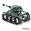 Double Eagle tigris tank távirányítós építőkészlet (313 db, 25,4 cm, 2.4GHz) RC Tiger 1 harckocsi építőkocka játék szett EE Double E CaDa (C51018W)