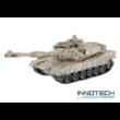 Zegan 99812 amerikai M1A2 Abrams 1:28 (36cm) távirányítós játék infra tank harckocsi (tankcsata életerővel RC RTR Zegan 99812) - mintás barna
