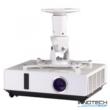 Hama projektor mennyezeti tartó 22cm - fehér (fali LCD TV tartó konzol) (118610)