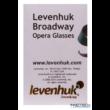 Levenhuk Broadway 325F színházi látcső (piros, LED-fénnyel és lánccal) - 17782