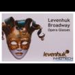 Levenhuk Broadway 325F színházi látcső (fehér, LED-fénnyel és lánccal) - 28817