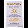 Levenhuk Broadway 325C Blue Wave/Kék Hullám színházi látcső lánccal - 70871
