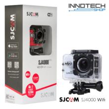 SJCAM SJ4000 WIFI akció kamera sportkamera 2 colos kijelzővel gyári kiegészítőkkel (ezüst)