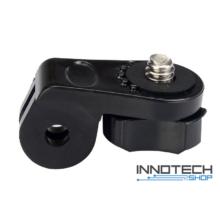 """SJCAM / GoPro -> 1/4"""" szabvány csavar rendszerű akció kamera adapter átalakító SJ/GP-141 SJ GP-141"""