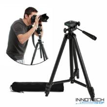 """Ultra könnyű alumínium teleszkópos állvány ( ZY-335 1200 mm ) tripod kamerákhoz fényképezőgéphez (professzionális kamera statív libella 1/4"""" szabvány csatl)"""