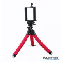 """Innotech univerzális állvány octopus tripod mini állvány akciókamerákhoz és kisebb fényképezőgépekhez, kamerákhoz (1/4"""" szabvány csatlakozás) + Állítható telefon tartó"""