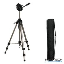 Hama STAR 63 F-V. fotó videó állvány 1660 mm (ultra könnyű teleszkópos kamera tripod statív táskával) (4163)