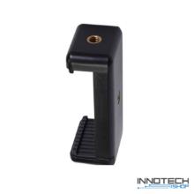 Innotech telefon tripod monopod kiegészítő rögzítő tartó adapter kétoldali 1/4'' szabvány állvány csavar csatlakozással