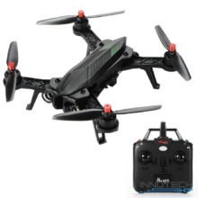 MJX Bugs 6 verseny drón quadcopter (magyar útmutatóval MJX B6 Bugs6 professional racing drone versenydrón RTF 2,4 GHz 300 m FPV) - fekete