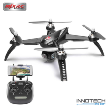 MJX Bugs 5W GPS Wifi FPV drón quadcopter (magyar útmutatóval B5W B 5 W 1080P HD Kamerás Drón 500 m) - fekete