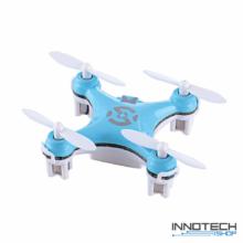 Cheerson CX-10 nano drón quadcopter (CX 10 hobby mini drone, rc nano quadrokopter, beltéri szoba drón) - kék