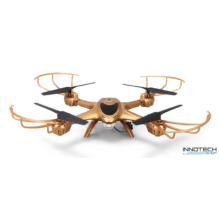 MJX X401H Wifi FPV élőképes kamerás drón quadcopter (480p SD FPV kamerával) - arany