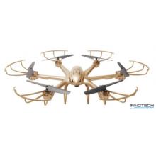 MJX X601H Wifi FPV élőképes kamerás drón quadcopter (480p SD FPV kamerával) - arany
