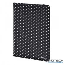 """Hama Polka Dots univerzális tablet és ebook tok 7-8"""" - fekete (135533)"""