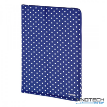 """Hama Polka Dots univerzális tablet és ebook tok 7-8"""" - kék (135534)"""
