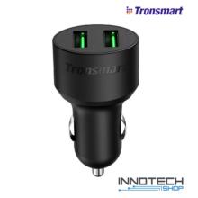 Tronsmart CC2TF autós szivargyújtó gyorstöltő 2 USB QuickCharge 3.0