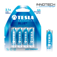 Tesla Batteries Blue+ AA féltartós ceruza elem (Blue Plus, R6, 1,5V) - 4 db / csomag