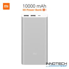 Xiaomi Mi Power bank 2S 10000 mAh QuickCharge 2.0 ezüst PLM09ZM (2 S, külső akkumulátor, gyorstöltő, vésztöltő, powerbank)