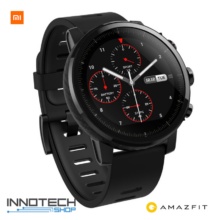 Xiaomi Huami Amazfit Stratos GPS fitnesz okosóra fekete (Pace 2 business & fitness smart watch)