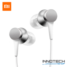 Xiaomi Mi In-Ear BASIC - vezetékes sztereó fülhallgató headset (HSEJ03JY) - ezüst