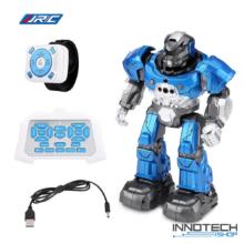 JJRC R5 CADY WILI RC Robot interaktív programozható intelligens vezérléssel (magyar útmutatóval óra gesztusvezérlés távirányítós játék) - kék
