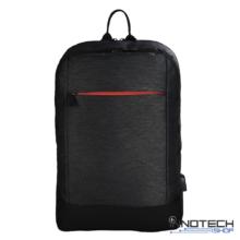 """Hama MANCHESTER 15,6"""" notebook / laptop hátizsák - fekete (101825)"""