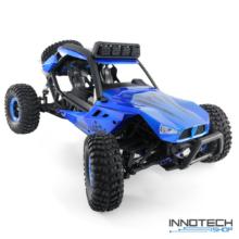 JJRC Q46 4WD 45km/h 1:12 nagy sebességű RC autó távirányítós autó (45 km/h Speed Runner buggy) - kék
