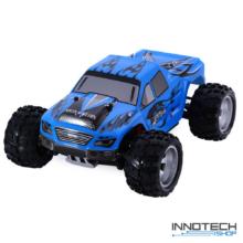WLtoys A979 profi Off Road 4WD 50km/h 1:18 nagy sebességű RC távirányítós autó (magyar útmutatóval 50 km/h Monster Racing Truck Buggy versenyautó) - kék