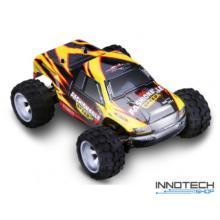 WLtoys A979-A profi Off Road 4WD 35km/h sebességű 1:18 RC távirányítós autó (35 km/h Monster Racing Truck Buggy versenyautó) - sárga