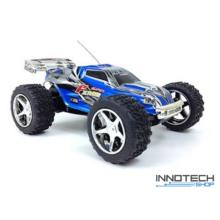 WLtoys 2019 Mini Truggy 25km/h sebességű 1:32 RC távirányítós autó (25 km/h Mini-Truggy   versenyautó) - kék