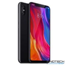 Xiaomi Mi 8 128GB 6GB RAM DualSim kártyafüggetlen okostelefon (Mi8 6 GB / 128 GB 4G LTE Dual Sim mobiltelefon magyar menü) - Fekete