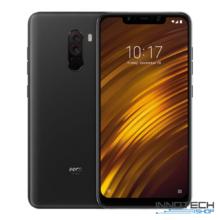 Xiaomi Poco F1 64GB 6GB RAM DualSim kártyafüggetlen okostelefon (Pocophone F 1 6 GB / 64 GB 4G LTE Dual Sim mobiltelefon magyar menü) - Fekete