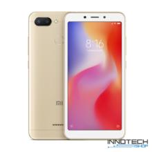 Xiaomi Redmi 6 32GB 3GB RAM DualSim kártyafüggetlen okostelefon (Mi Redmi 6 3 GB / 32 GB 4G LTE Dual Sim mobiltelefon magyar menü) - Arany