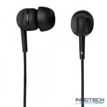 Thomson EAR 3005 IN-EAR fülhallgató és mikrofon headset - fekete (132479)