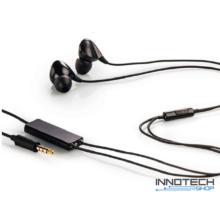 Thomson EAR 3827NCL IN-EAR aktív zajszűrő fülhallgató és mikrofon headset - fekete (132491)