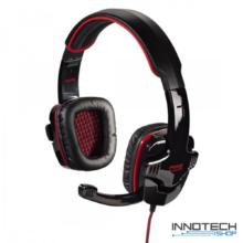 Hama FIRE STARTER pc gaming fejhallgató és mikrofon headset - piros - fekete (gamer) (53987)