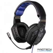 Hama URAGE SOUNDZ pc gaming fejhallgató és mikrofon headset - kék - fekete (gamer) (113736)