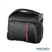 Hama Nashville 140 fotós táska 23x11x17,5 cm fekete - vörös (121868)