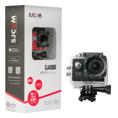 SJCAM SJ4000 sportkamera - FEKETE (SJ4000BK)