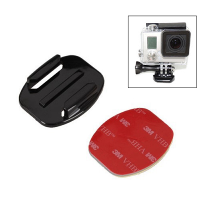 SJCAM / GoPro akció kamera egyenes gyors csatlakozó talp alj 3M öntapadós rögzítő SJ/GP-15 SJ GP-15