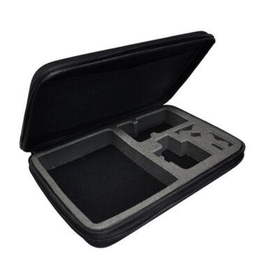 SJCAM / GoPro univerzális akció kamera tok táska tartó L-es nagy méret 33x23x7cm SJ/GP-77 SJ GP-77