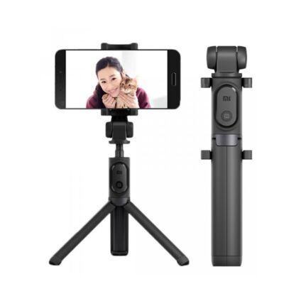 Xiaomi Mi Selfie Stick Tripod - állvány és monopod szelfi bot levehető bluetooth kioldógombbal (XMZPG01YM) - fekete  (XMMSSTRBTUSB)