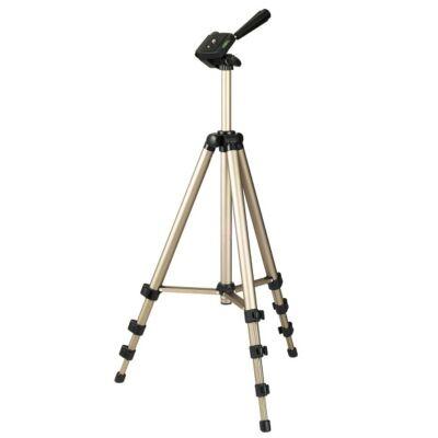 Hama STAR 700 EF DIG. fotó videó állvány 1250 mm (ultra könnyű teleszkópos kamera tripod statív táskával) (4133)