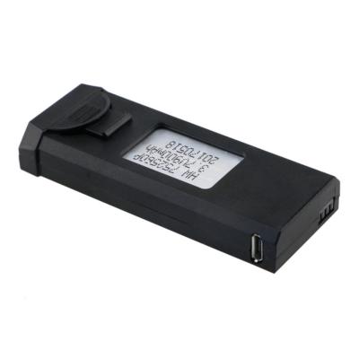 VISUO gyári pót akkumulátor VISUO XS809HW drónokhoz (3,7 V, 900 mAh, drón tartalék akku)